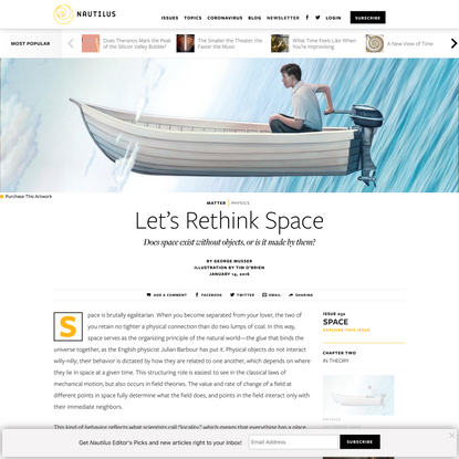 Let's Rethink Space - Issue 32: Space - Nautilus