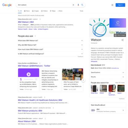 ibm watson - Google Search