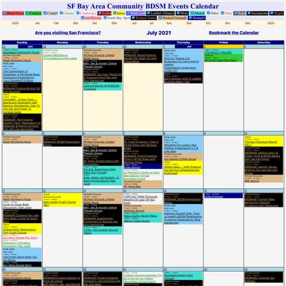 Erobay - Community BDSM Events Calendar