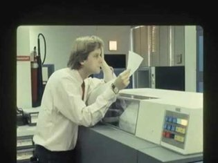Ted Nelson struggles with uncomprehending radio interviewer, 1979