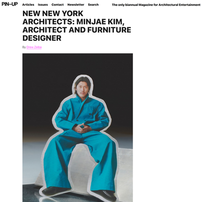 NEW NEW YORK ARCHITECTS: Minjae Kim, Architect And Furniture Designer