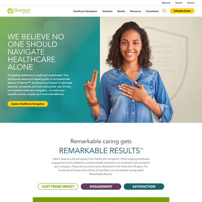 Quantum Health | Healthcare Navigation