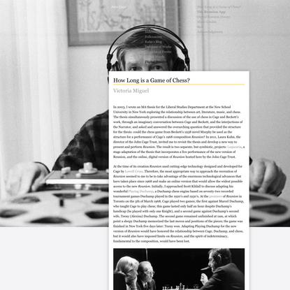 John Cage :: The John Cage Trust :: Reunion