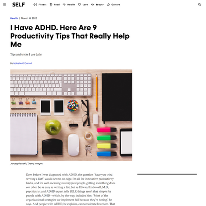 I Have ADHD. Here Are 9 Productivity Tips That Really Help Me