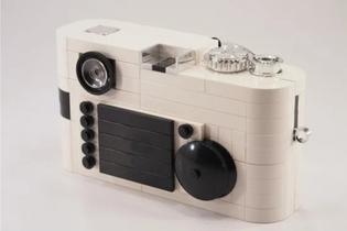 LEGO Leica M8 Viewfinder Camera by Mr. Attacki (aka H.Y. Leung)