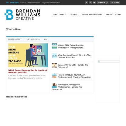 Brendan Williams Creative - Photography And Photo Editing Made Easy