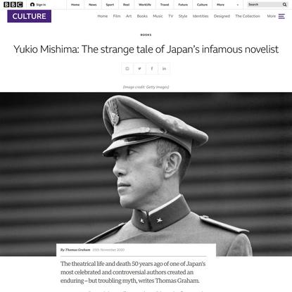 Yukio Mishima: The strange tale of Japan's infamous novelist - BBC Culture