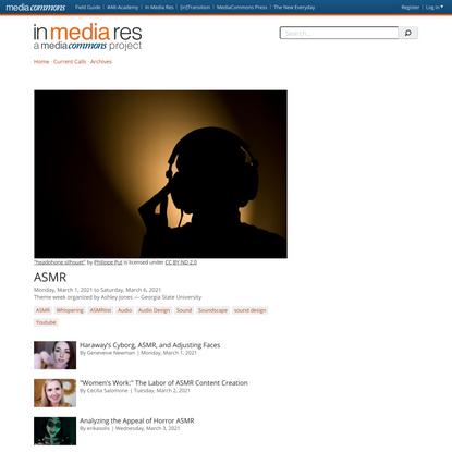ASMR | In Media Res