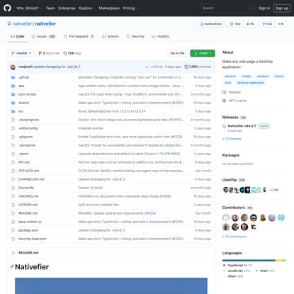 nativefier/nativefier