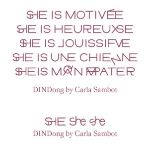 DINDong by Carla Sambot