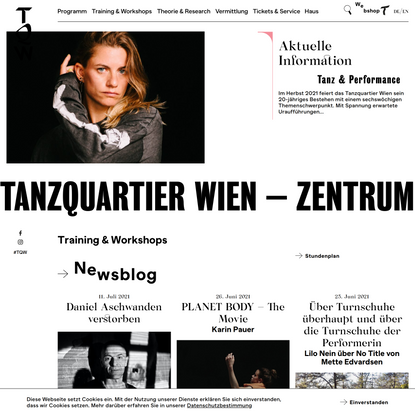 Tanzquartier Wien – Zentrum für zeitgenössische Choreografie & Performance