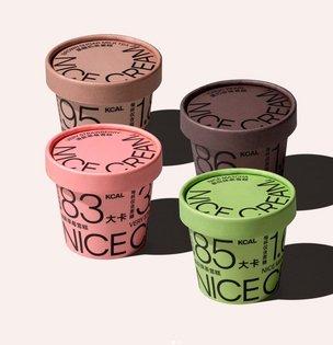 NICE CREAM - Branding Packaging