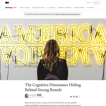 The Cognitive Dissonance Hiding Behind Strong Brands