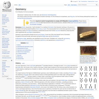 Geomancy - Wikipedia