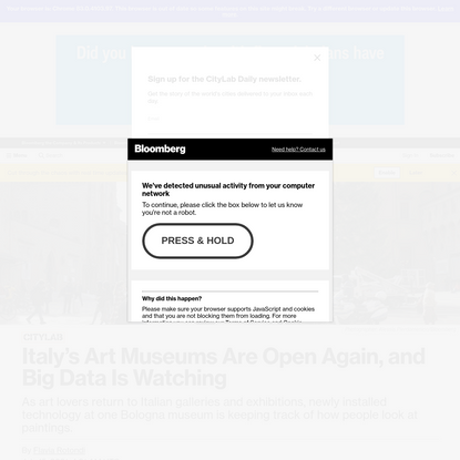 New Museum Technology Collects Data on Viewing Habits - Bloomberg
