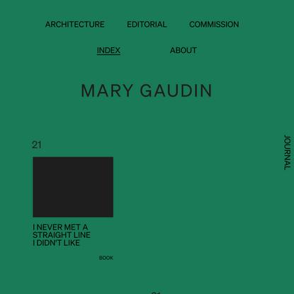 Mary Gaudin