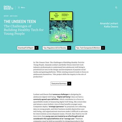The Unseen Teen
