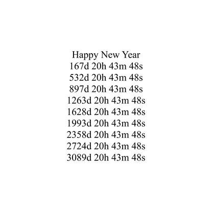 Decade Countdown