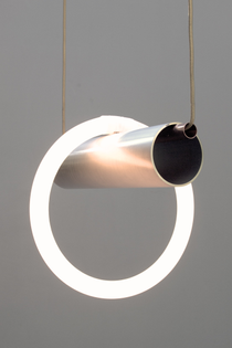 Hanging Composition Light, Prototype, 2011 by Lukas Peet