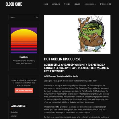 Hot Goblin Discourse - Blood Knife