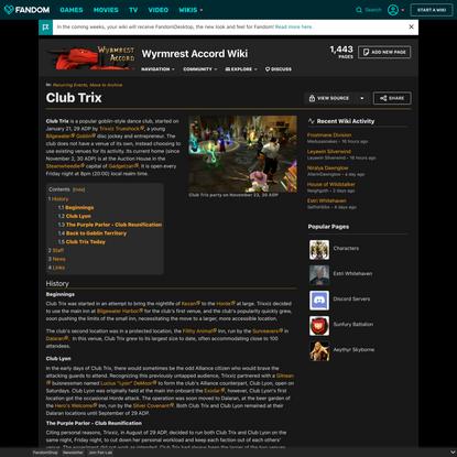 Club Trix