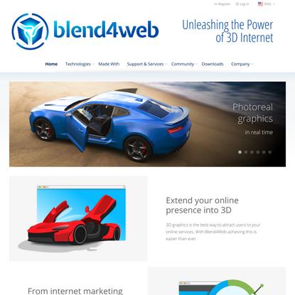 Unleashing the Power of 3D Internet | Blend4Web