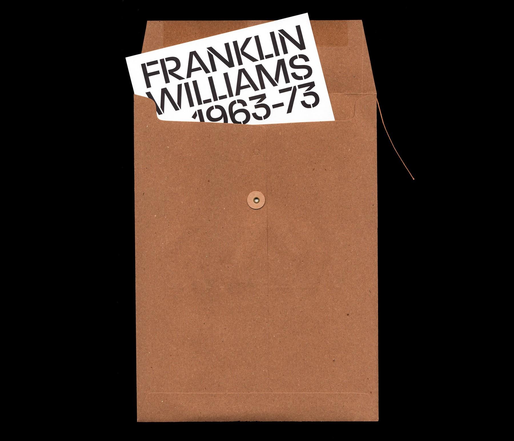 Franklin Williams: 1963–73 at Parker Gallery by Folder Studio