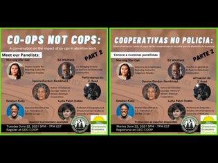 Co-ops Not Cops 2