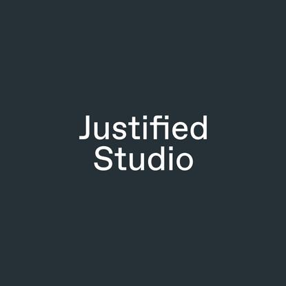 Creative agency | Justified Studio