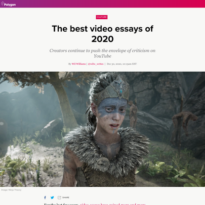 The best video essays of 2020