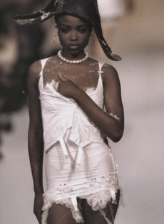 lorraine pascale for john galliano, october 1991 .