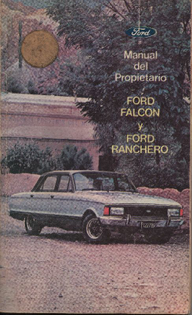 Ford Falcon manual
