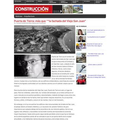 """Puerta de Tierra: más que """"""""la fachada del Viejo San Juan"""""""
