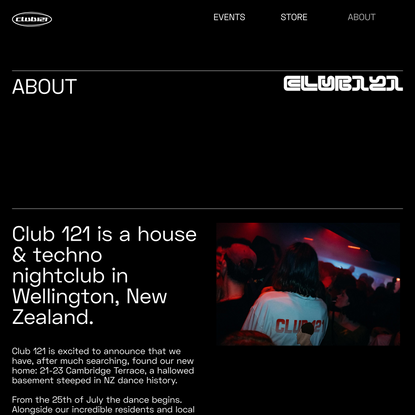 About — Club 121