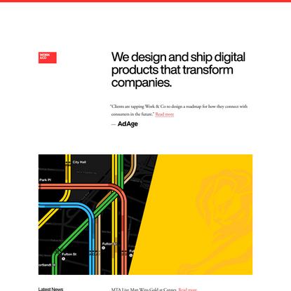 Work & Co | Digital Product Agency