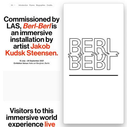 Berl Berl World – Jakob Kudsk Steensen