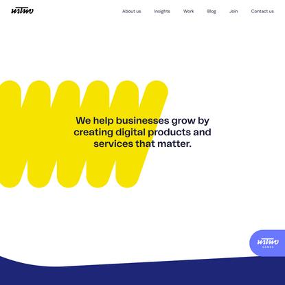 ustwo | Digital product studio