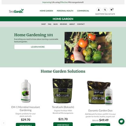 Probiotic & Fertilization for Your Soil & Plants