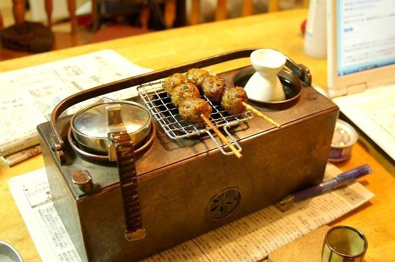 kandouko charcoal sake warmer