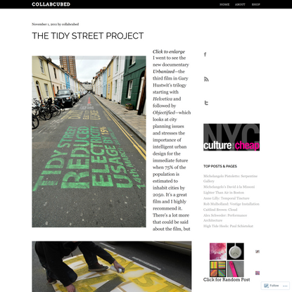 The Tidy Street Project