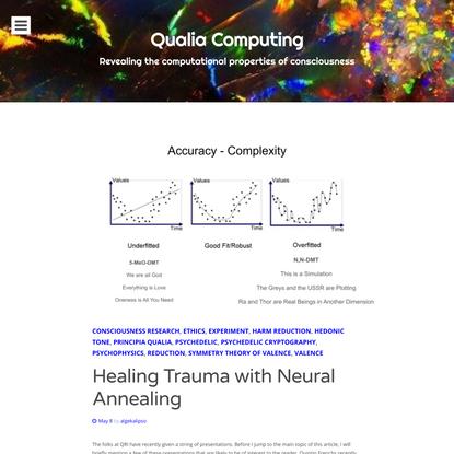 Healing Trauma with Neural Annealing