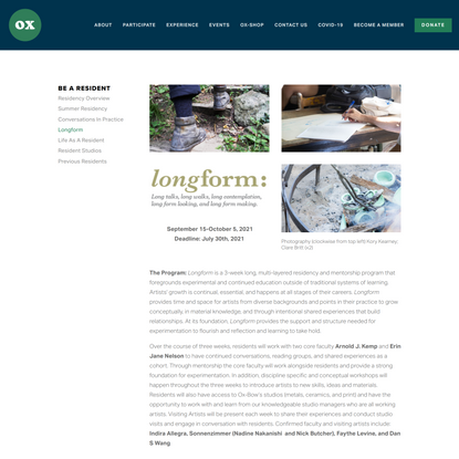 Longform — Ox-Bow