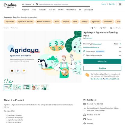 Agridaya - Agriculture Farming Pack