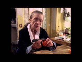 Louise Bourgeois - Peels a Tangerine
