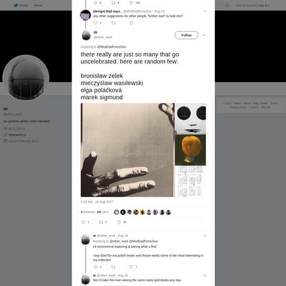 m on Twitter
