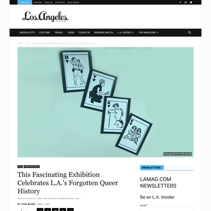 This Fascinating Exhibition Celebrates L.A.'s Forgotten Queer History Los Angeles Magazine