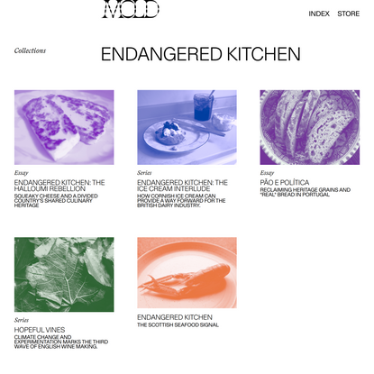 Endangered Kitchen Archives - MOLD :: Designing the Future of Food