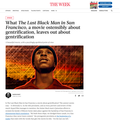 What The Last Black Man in San Francisco, a movie ostensibly about gentrification, leaves out about gentrification