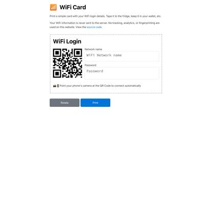 📡 WiFi Card