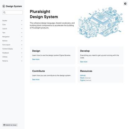 Home | Pluralsight Design System